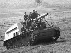 Panzerhaubitze Hummel #worldwar2 #tanks Artillery piece.