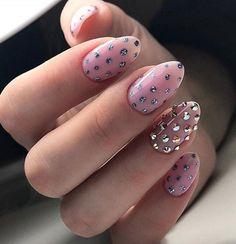 Beautiful Unique and Trendy Nail Designs 2017 Nail Designs 2017, Manicure Nail Designs, Pink Nail Designs, Nail Manicure, Nails Design, Nail Polish, Acrylic Nail Art, Glitter Nail Art, Cute Nails