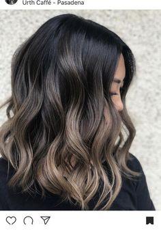 Ash brown hair with highlights | Inspiring Ladies