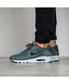 05f8fc4e5b8 Nike Air Max 90 Ultra Essential Hasta Green Trainer