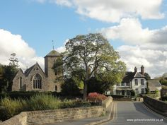 FOWNHOPE, a picturesque village in the county of Herefordshire.