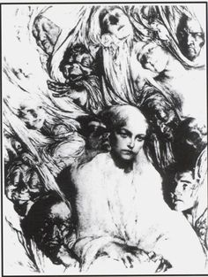 """""""Images of The Mind"""" by Rose O'Neill 1921"""