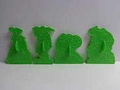 1990 Teenage Mutant Ninja Turtles Cookie Cutters Wilton Plastic Set of 4 Ninja Turtle Cookies, Turtle Cakes, Teenage Mutant Ninja Turtles, Silicone Molds, Cookie Cutters, Goodies, Plastic, Ebay, Sweet Like Candy