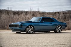 1968 Camaro RS/SS Pro Touring, Restomod, 4 Whl Disk: