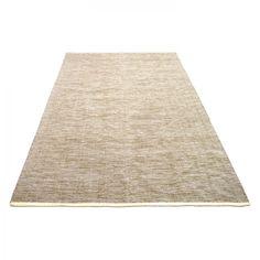 Teppich Lema - Baumwollstoff - Beige