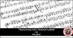 Teaching Key Signatures in Music