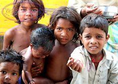 Children begging in Dehli...so overwhelming, so sad.
