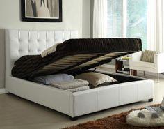 design betten aufbewahrungsraum weiß funktional beiger teppich