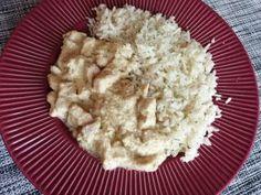 Ebédre vagy vacsorára, akár maradék csirkemellből is elkészíthető finomság Quinoa, Grains, Rice, Food, Essen, Meals, Seeds, Yemek, Laughter