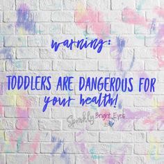 Toddler inflicted injuries- the main cause of injuries in modern day parenting.
