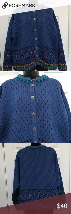 Dale of Norway Sweater Button down sweater. Nice detail all over. In good wearable condition. Pure new wool. Dale of Norway Sweaters Metal Buttons, Norway, Button Downs, Pure Products, Wool, Detail, Nice, Sweaters, Things To Sell