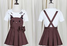 Japanese kawaii rabbit straps shorts/skirt everything is cute shorts or shirts?