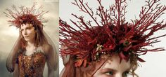 Regal Tribal Headdresses : Queens Headpieces