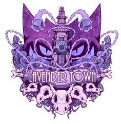 Lavender Town by TreyBarksArt on DeviantArt Gengar Pokemon, Pokemon Manga, Pokemon Go, Pikachu, Pokemon Halloween, Disney Halloween, Pokemon Images, Pokemon Pictures, Ghost Type Pokemon