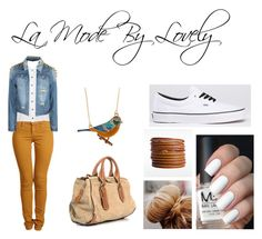 """""""La Mode By Lovely 1"""" by thisisthelife ❤ liked on Polyvore featuring Second, Evil Twin, Burberry and Linea Pelle"""