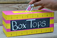 Box Tops for Education Collection Bin #ad #Hefty4BoxTops