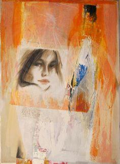 """Una delle opere sulla Musica  (Bob Dylan) - Nella mostra """"Bianche di nuovo, in maggio, di voluttuosa ..."""" al Museo della Corona Arrubia - Villanovaforru-Collinas (Cagliari)"""