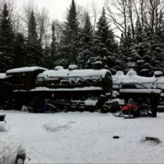 The trains of northern Maine