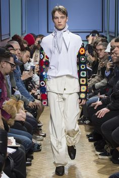 J W ANDERSON Autumn Winter 2017 Menswear Collection  @zoe_boone