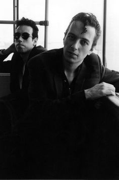 joe strummer and mick jones :: the clash