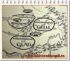 Voievodatele româneşti în sec. IX - X Solomon, Arabic Calligraphy, Bun Bun, Maps, Arabic Calligraphy Art, Map, Cards