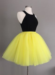 Hey, I found this really awesome Etsy listing at https://www.etsy.com/listing/225886519/yellow-tulle-skirt-adult-bachelorette
