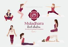 Kundalini Yoga, Pranayama, 7 Chakras, Yoga Roots, Root Chakra Healing, Root Chakra Meditation, Reiki, Chakra Raiz, Muladhara Chakra