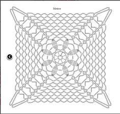 Graficos y Crochet: Blusa en blanco
