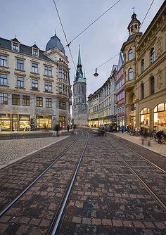 Halle (Saale), Germany by Thomas Lewandovski via Flickr