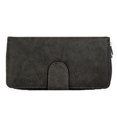 Dámská praktická peněženka New Berry FD-004 šedá