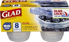 Glad Food Storage Containers, Mini Round, 4 Ounce, 8 Coun... https://www.amazon.com/dp/B000EGBLBM/ref=cm_sw_r_pi_dp_x_rOiFyb3VAP8EZ