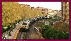 Saliendo de Salamanca. Nueva foto de trenes