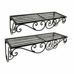 Decorative Metal Wall Shelves iron mirror | for home | pinterest | iron and wrought iron