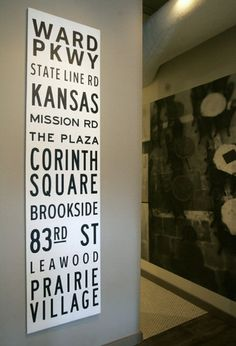 #KansasCity streetcar sign (conceptualized by Alan Gaylin & produced by Digital Design).  Would love to do this with Lawrence, KS locations!