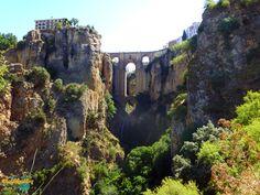 Pont-de-Ronda-Andalousie-Espagne
