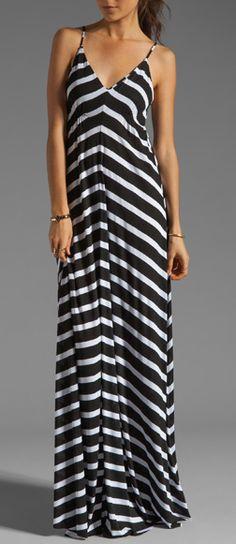 Stripes maxi