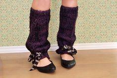 Make your own leg warmers... cuteness! <3