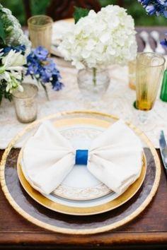 Elegant Lakeside Blue and Green Wedding Inspiration