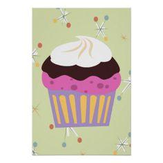 Triple Joy Cupcake Posters