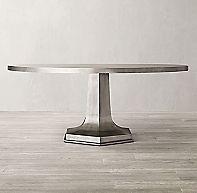 1940s Belgian Metal Round Dining Table Metal Round Dining Table Round Dining Table Round Dining
