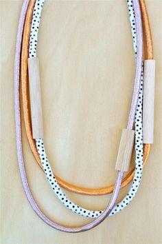Playful polka dots meet modern metallics. #etsyjewelry