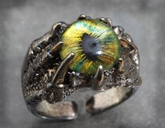 Click here to see more dragon jewelry dragon eye rings: http://etsy.me/1Jqrx3U 37.50 #Dragon #Ring