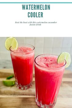 Meat Recipes, Vegetarian Recipes, Watermelon Cooler, Beat The Heat, Home Chef, Cucumber, Favorite Recipes, Yummy Food, Group