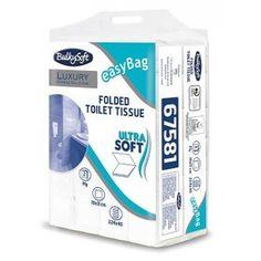 Papier toaletowy w składce Bulkysoft Excelleance stanowi doskonałe rozwiązanie dla eleganckich toalet. Biały, dwuwarstwowy wykonany z czystej wyselekcjonowanej celulozy, miękki i delikatny w dotyku, elegancko gofrowany.