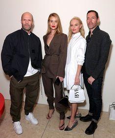 Kate Bosworth Husband, Jason Statham, Rosie Huntington Whiteley, Black Leather Sandals, Celebrity Outfits, Street Style, Photoshoot, Celebrities, Celebrity