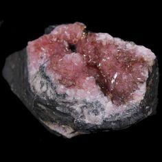 Rhodochrosite crystals on matrix, N'Chwaning l, KMF, South Africa