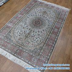 x Double Knots Persian Rug Made By Yilong. Decor, Silk Carpet, Carpet, Handmade Rug, Weavers, Persian Carpet, Rugs, Home Decor, Rug Making