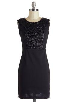 $52.99 Noir Kind of Party Dress | Mod Retro Vintage Dresses | ModCloth.com