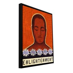 'Enlightenment' by Gloria Rothrock Framed Painting Print on Wrapped Canvas