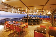 The Stella del Sud bar onboard Costa Diadema.  Image thanks @costacruises #costacruises #bar #wouldyou